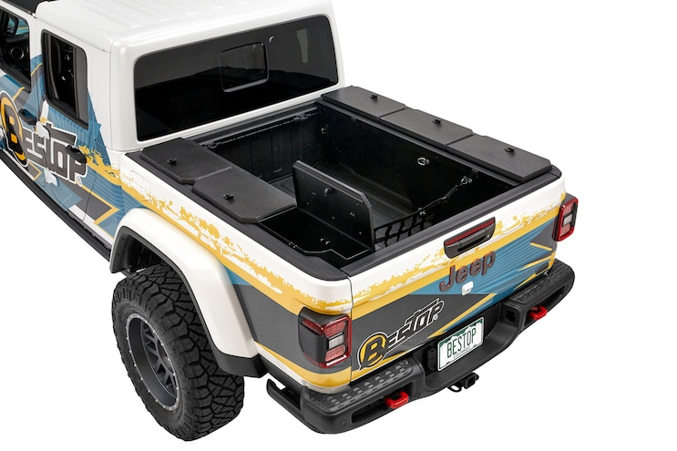 001 Tuffy Security Jeep Gladiator Bed Storage Box Overland Tool Compartment