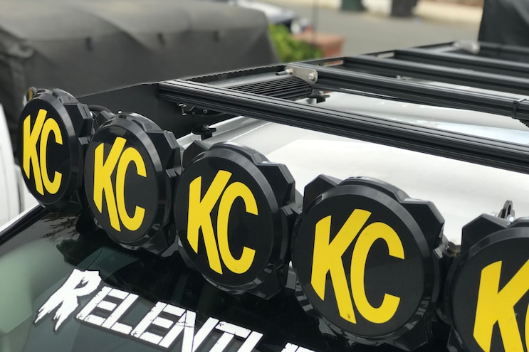 BulletProof Diesel Antenna Mount and KC M-Rack Wire Harness