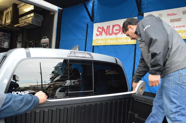 005 Snugtop Rebel Truck Bed Cap Toyota Tacoma