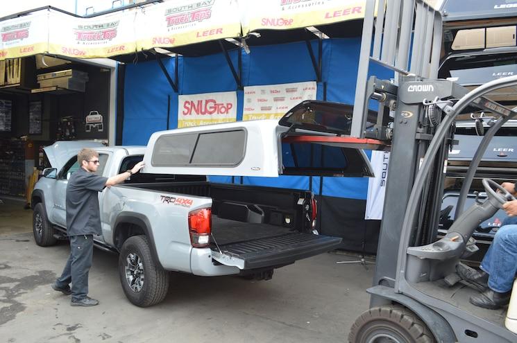 007 Snugtop Rebel Truck Bed Cap Toyota Tacoma
