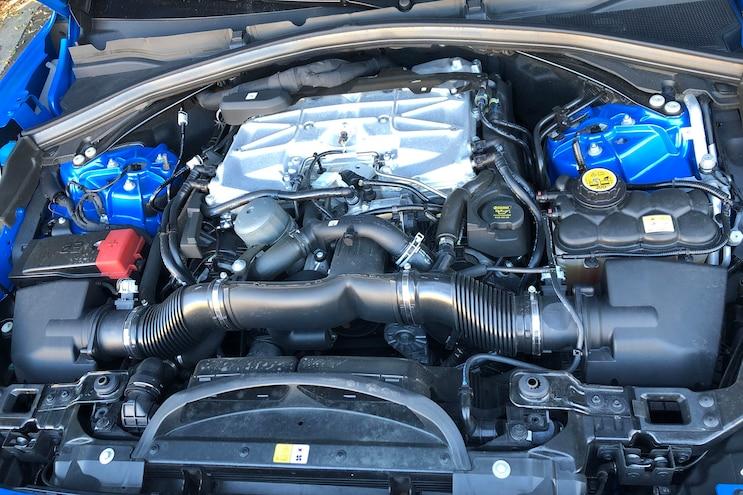 008 2019 Jaguar Fpace Svr First Drive Engine