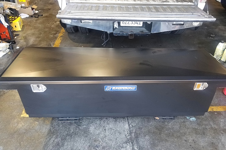 010 Prep Truck Bed For Line X Coating 10