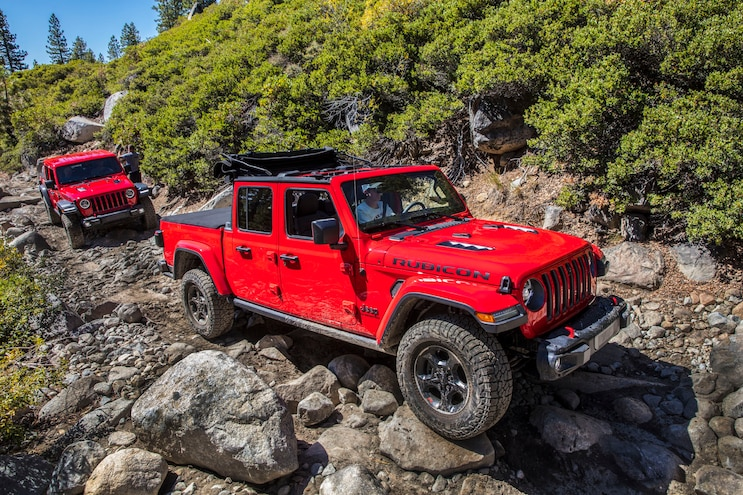 011 New Trucks With A Manual Transmission Jeep Gladiator