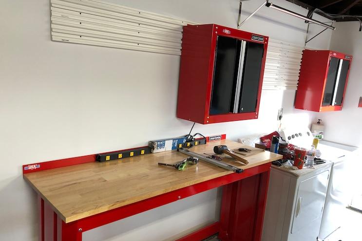 014 Craftsman Versatrack Garage Cabinet Installation