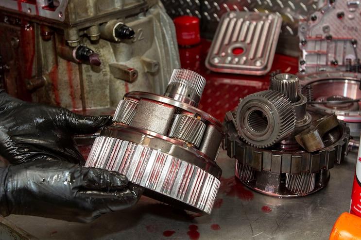 021 Chevy 2500hd Allison Transmission Teardown