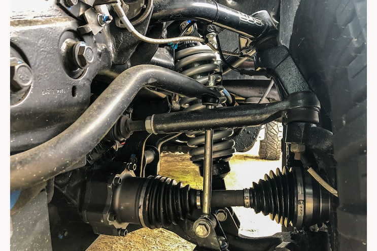 023 Ppe Chevy Silverado 2500hd Forged Steering