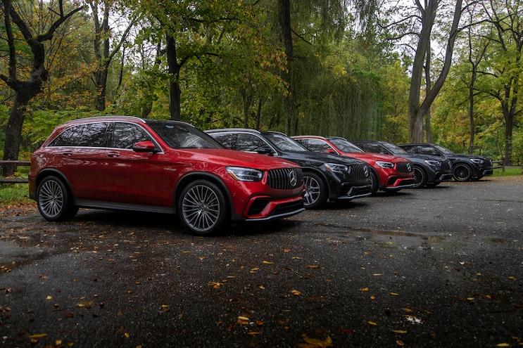 2020 Mercedes Benz Glc 300 Amg 63 First Drive Lineup