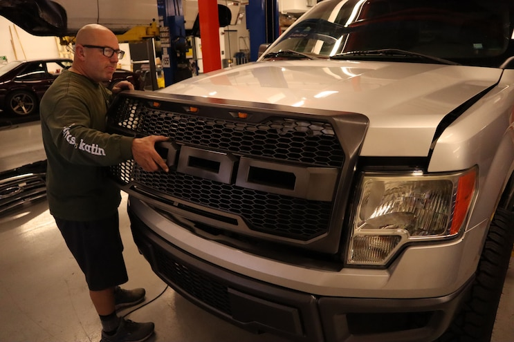 F150 ADD Steps Bumpers Grille 30