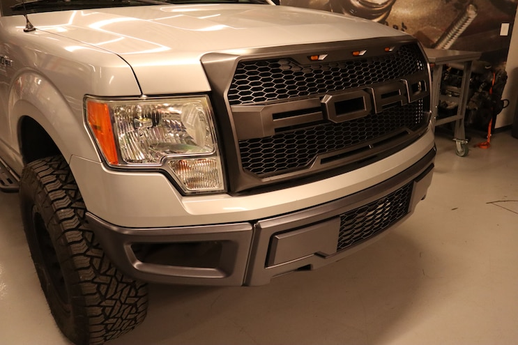 F150 ADD Steps Bumpers Grille 33