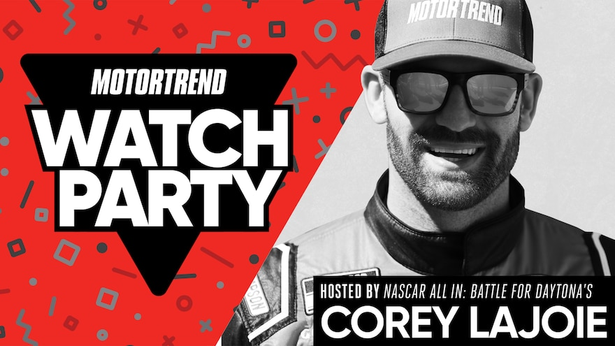 Friday Night Watch Party: Join NASCAR Driver Corey LaJoie and Stream 'NASCAR ALL IN: Battle for Daytona'!