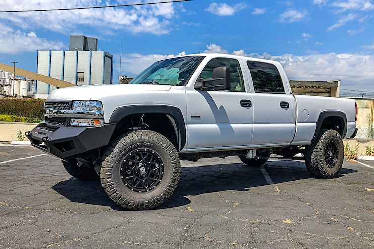 2002 Chevrolet Silverado 2500HD Duramax Project Update