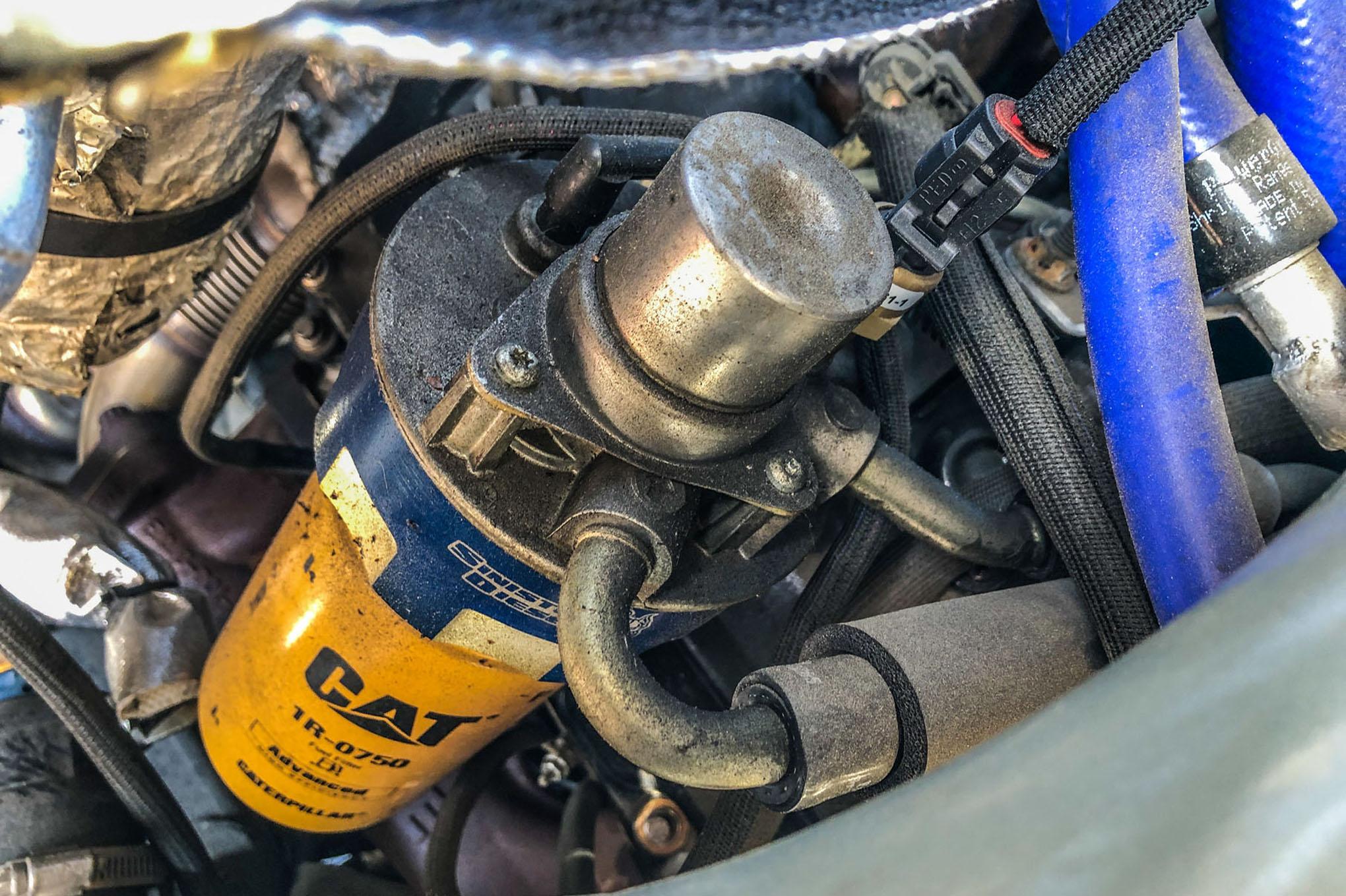 sinister diesel duramax cat fuel filter install  truck trend