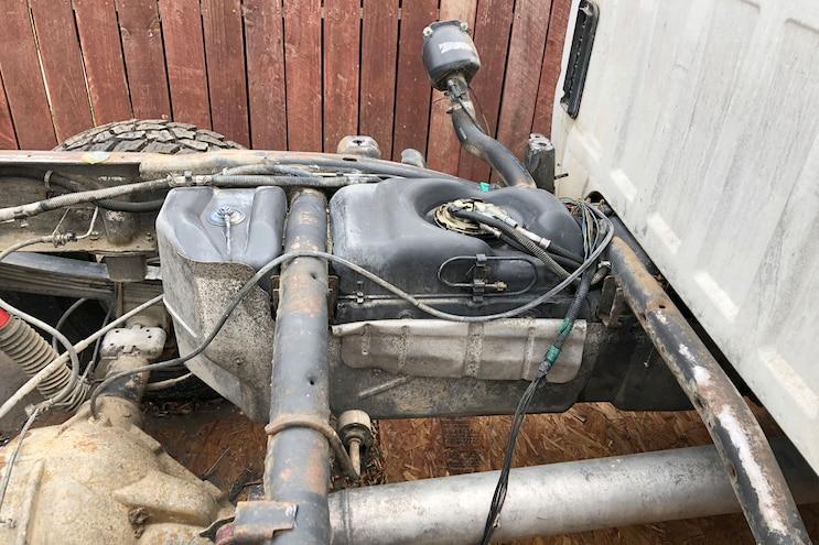 003 Titan Xxl Diesel Fuel Tank Install