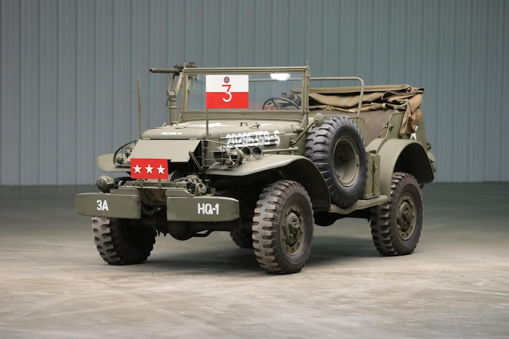 You Can Buy General Patton's WWII Command Car!
