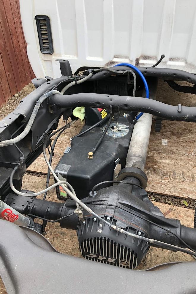 012 Titan Xxl Diesel Fuel Tank Install