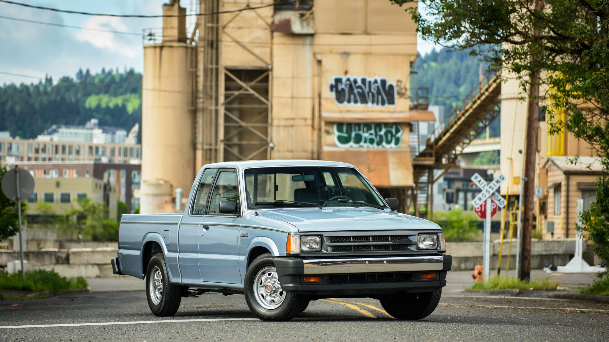 Mazda B Series 1986 B2000 1988 B2200 Cleanest Truck Internet