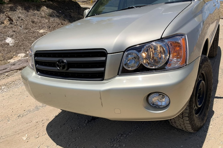 2001 Lifted Toyota Highlander Accessories 23
