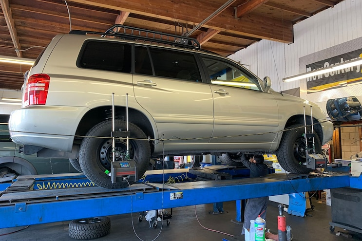 2001 Lifted Toyota Highlander Accessories 25