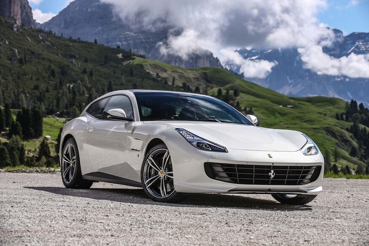 2017 Ferrari GTC4Lusso Front Three Quarters
