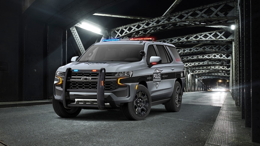It's For a Cop: 2021 Chevrolet Tahoe PPV Reports for Police Duty