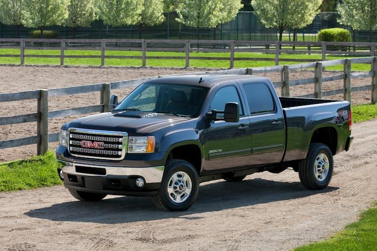 Best Used Hd Trucks Under 25k 2013 Gmc Sierra Hd 2500 Sle