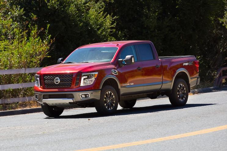 Best Used Hd Trucks Under 25k 2017 Nissan Titan Xd