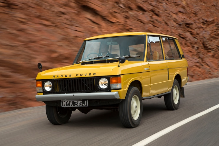 Range Rover Turns 50 Years Old
