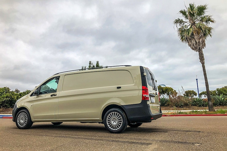 003 2019 Mercedes Benz Metris Cargo Van Review
