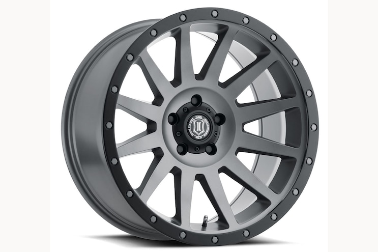 004 New Off Road Truck Gear Icon Alloys Compression 20 Titanium