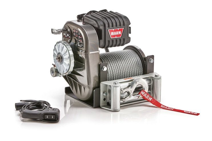 Big News: Warn upgrades the classic 8274 winch from 8,000 to 10,000 pounds