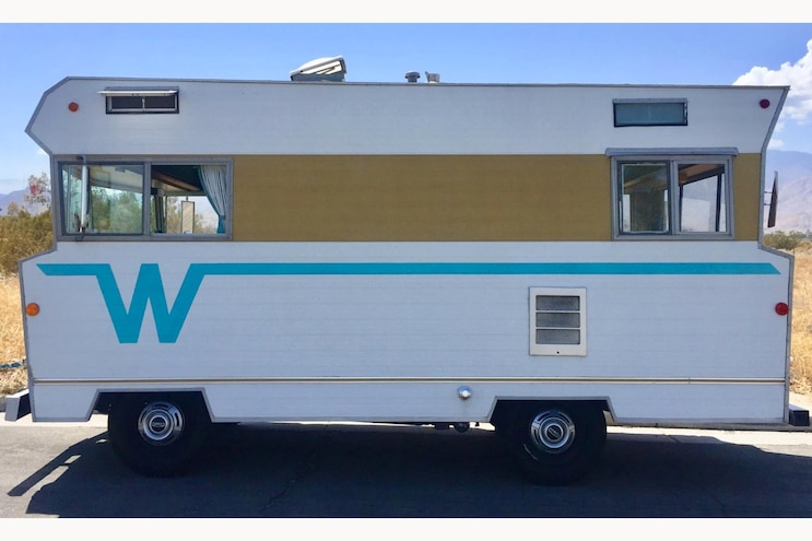 Bring a Trailer Funky Auction: 1968 Winnebago F17 Is One Far-Out Motorhome