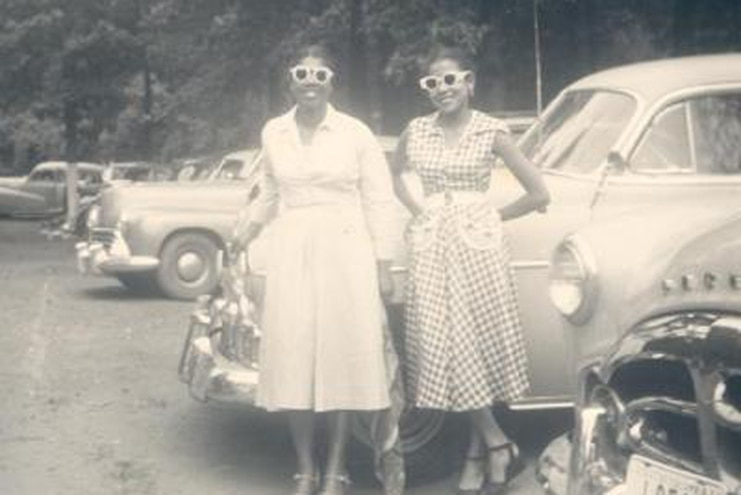 C.1947 Women With Cars Mrs. Percival Bryan Smithsonian