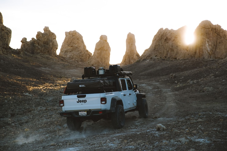 Jeep Gladiator Jt Extreme Roof Rack Kit Death Valley 3