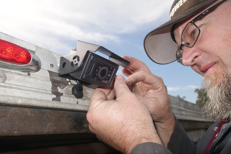 Installing a Backup Camera for Trailers
