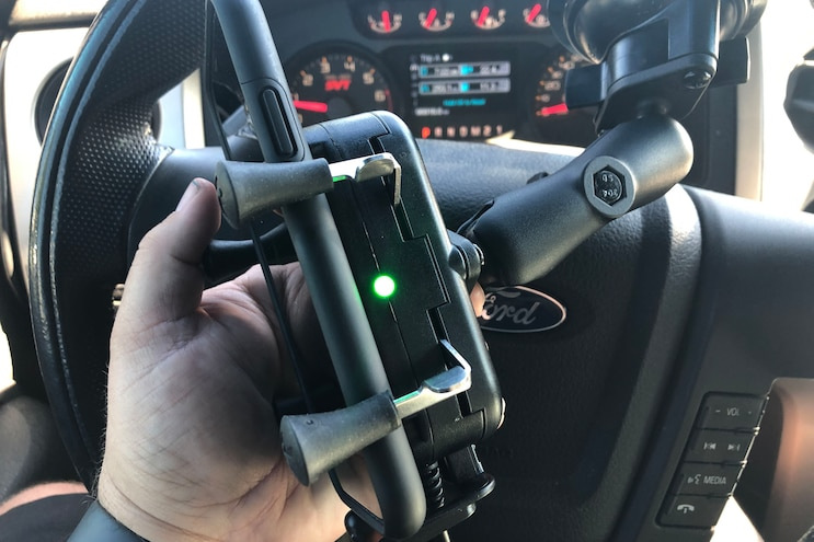 009 Ram Mounts Wireless Phone Charger