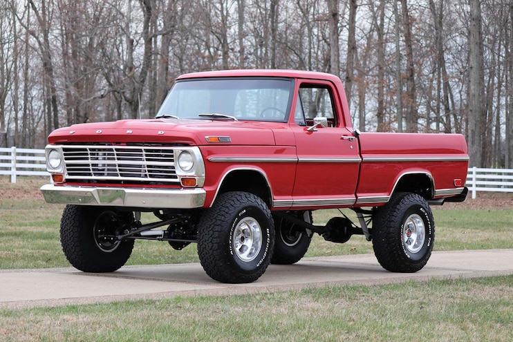 Restomod 1969 Ford F-100 Online Auction at Barrett-Jackson