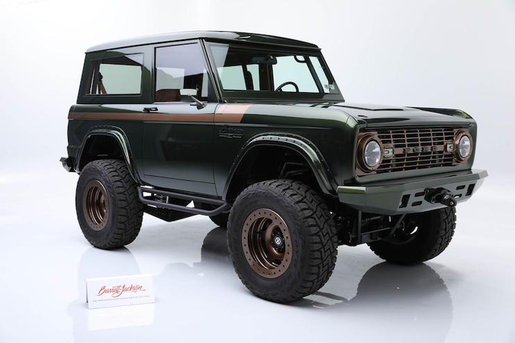 See Why This 1976 Ford Bronco Sold for Nearly $200,000 at Barrett-Jackson