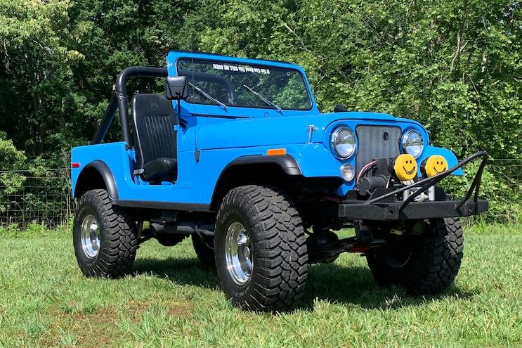 Jeep CJ Jeepsake Story from Mark Tuttle