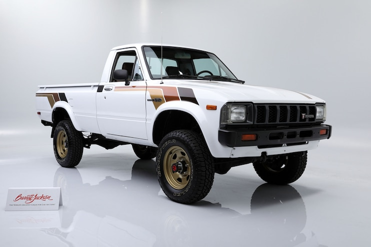 All Original 1983 Toyota SR5 Pickup Auction at Barrett-Jackson