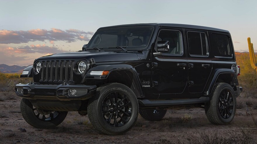 2021 Jeep Wrangler Gets More Features as New Ford Bronco Looms