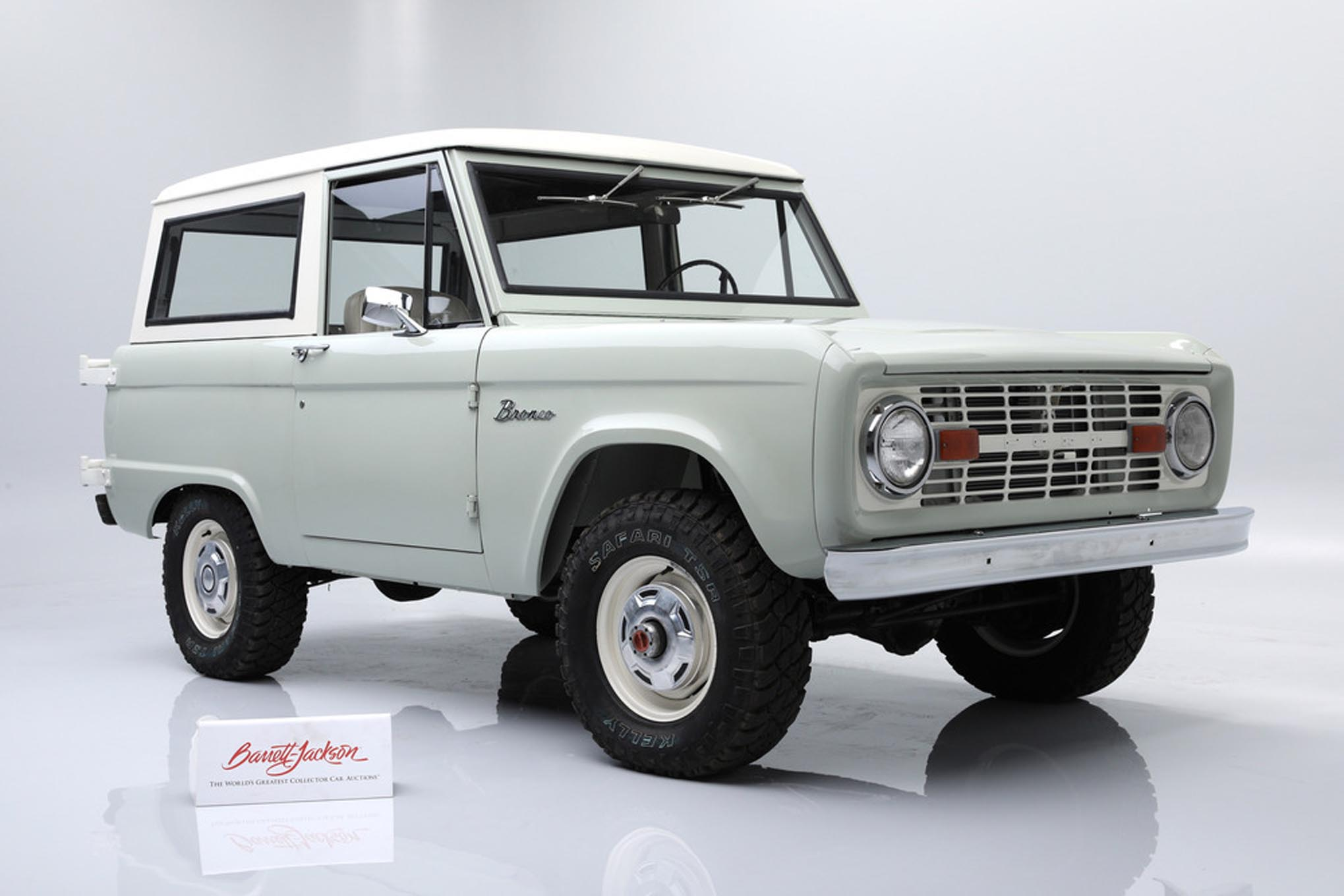 Classic Early Ford Bronco Auction At Barrett Jackson
