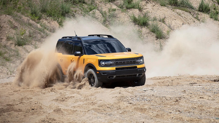 How Ford Makes the 2021 Bronco Sport Tougher Than the Escape