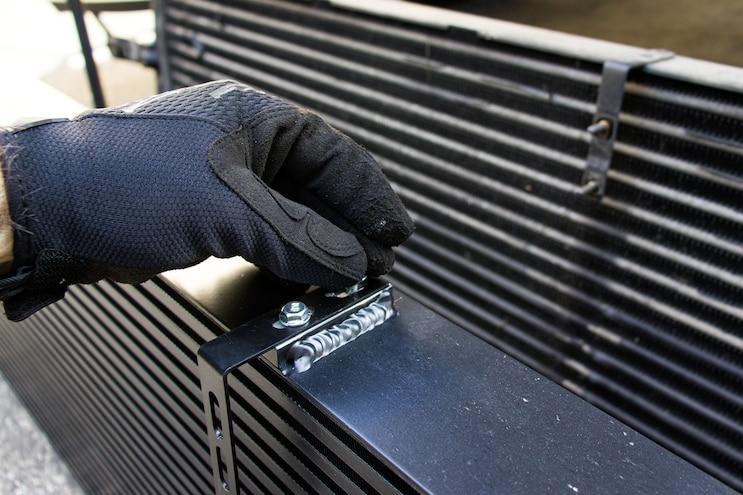 How To Install A Bigger Intercooler 16