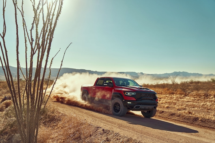 No, The 2021 Ram 1500 TRX Does Not Have a Hellcat V-8
