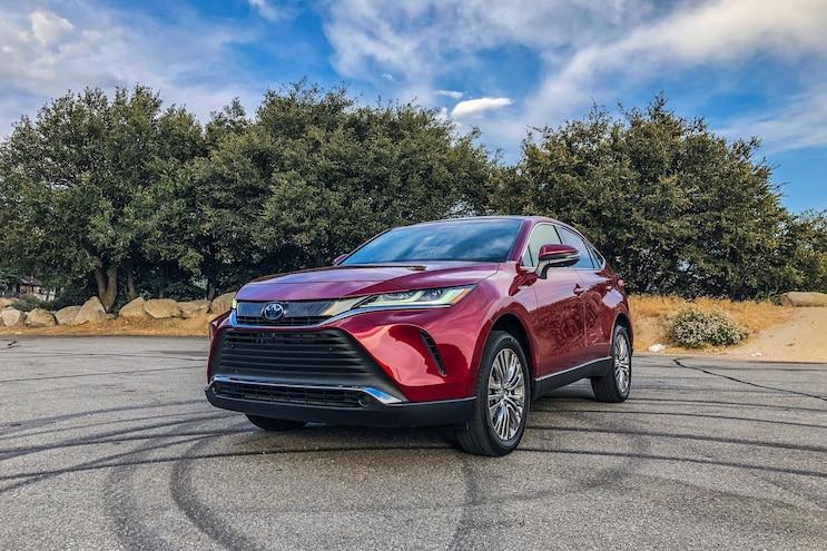 2021 Toyota Venza: Driven