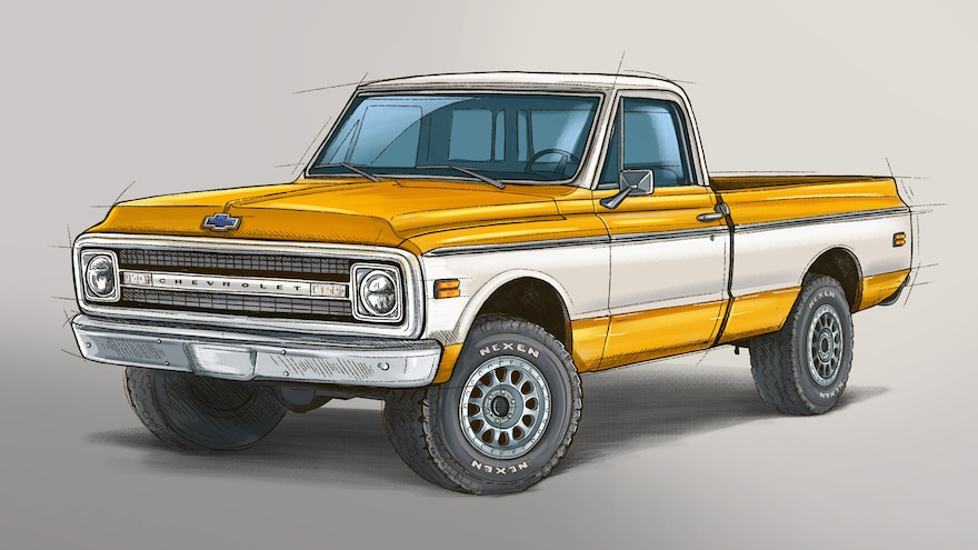 Fix-a-Flat Is Giving Away This 1970 Chevrolet C10 Restomod!