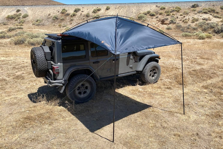 Overlanding Gear: Portable Awning For Any Rig