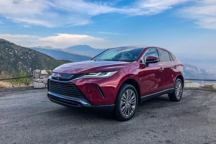 002 2021 Toyota Venza Driven
