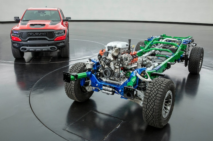 003 2021 Ram 1500 Trx Chassis And Engine
