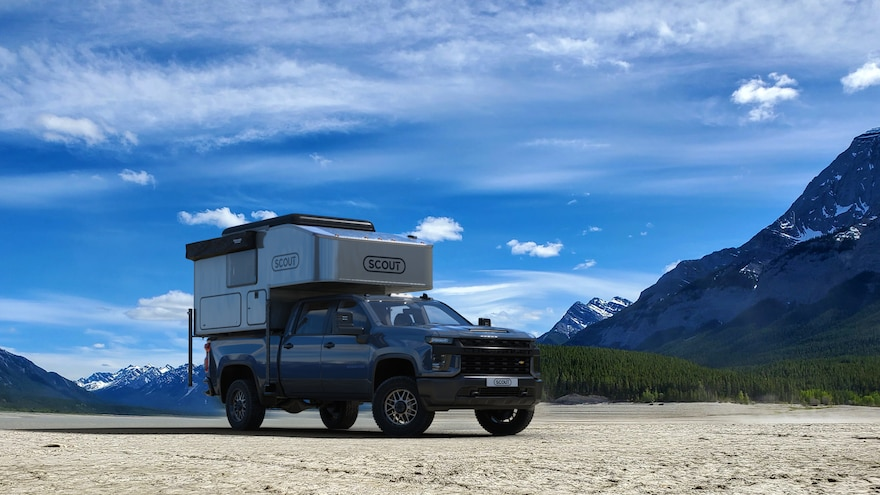 Kenai Ditch the Office In this New In-Bed Truck Camper?